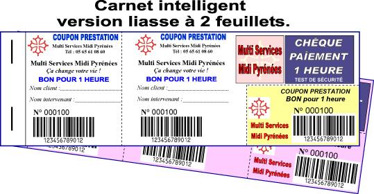 Liasses et carnets autocopiants personnalisés